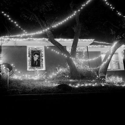 Black and White, Elvis, Lights, Autin