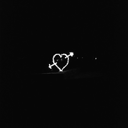 Black and White, Arrow and Heart, Lights