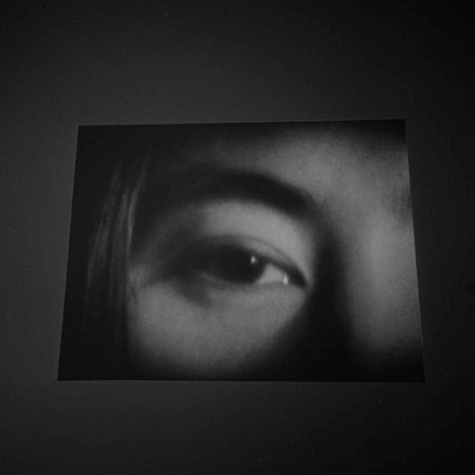 Black and White, Yoko Ono, eye